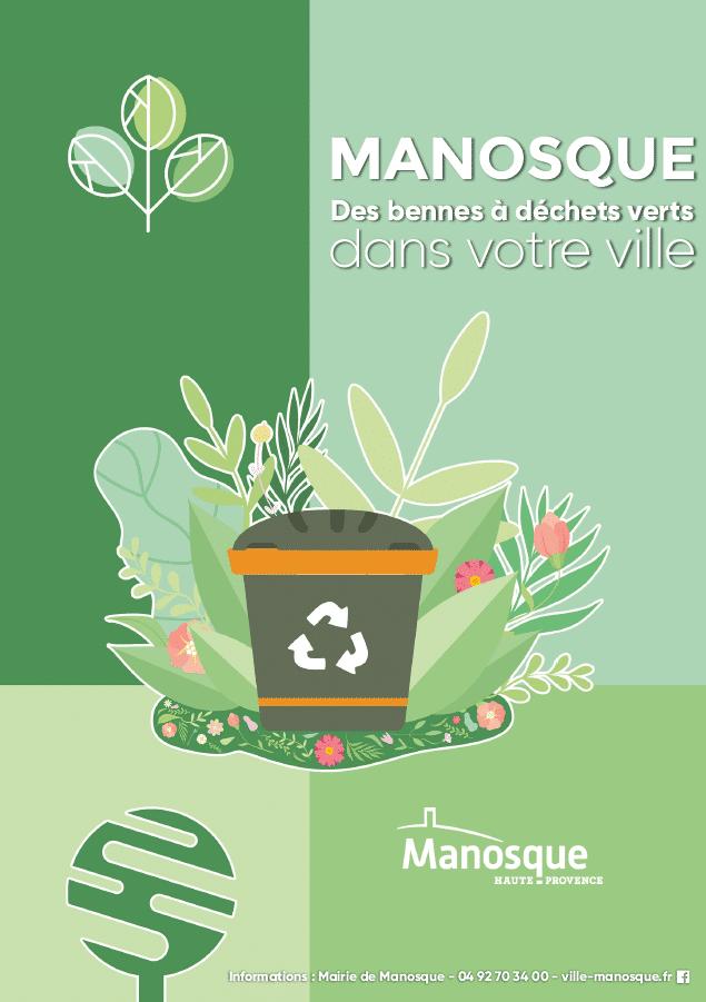 bennes à déchets verts Manosque