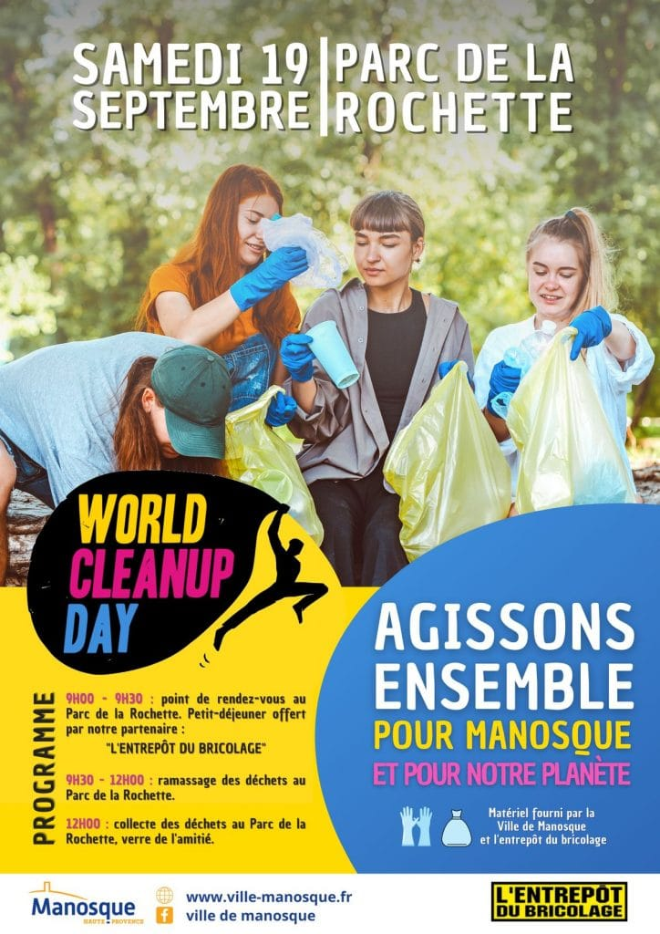 Manosque World Cleanup Day