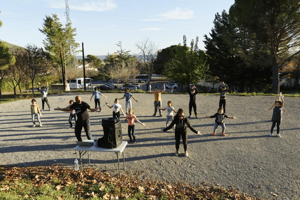 Danse à l'école Manosque