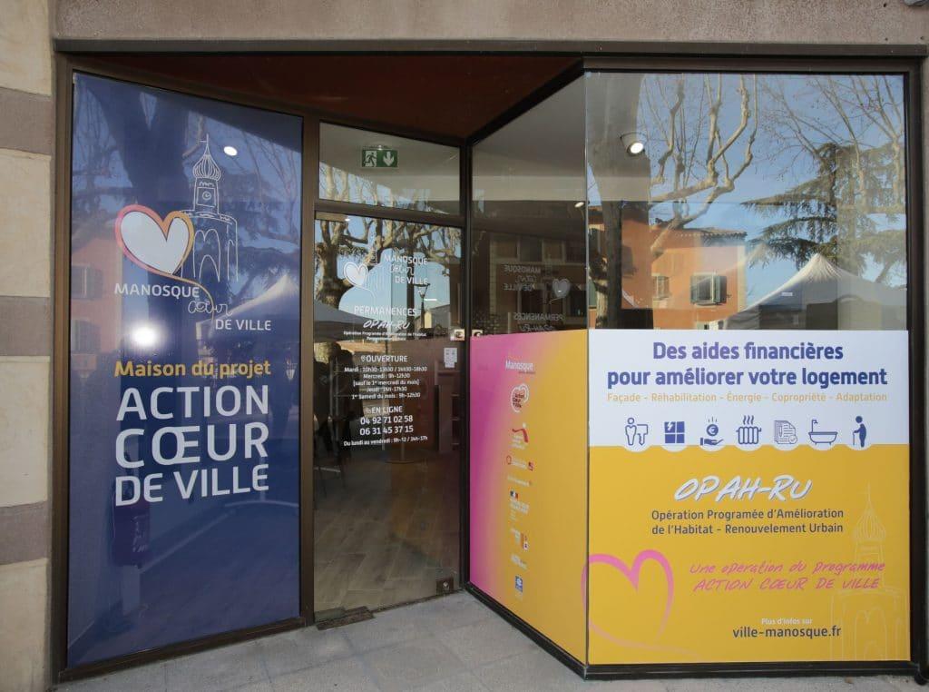 Maison de projet Action Cœur de Ville