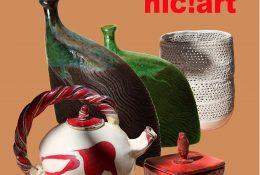 affiche galerie d'art HIC!ART