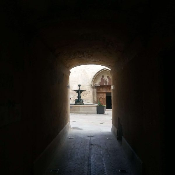 Passage vers Saint Sauveur