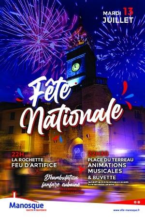 Fête nationale Manosque