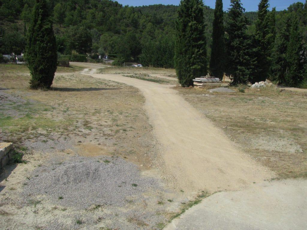 aménagement cimetière Grand Vallon Manosque