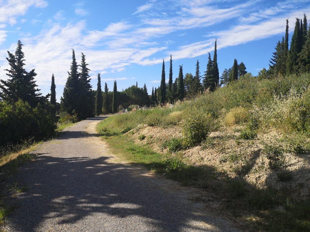 enrochement cimetière Grand Vallon Manosque